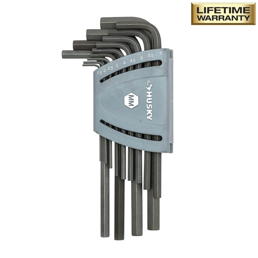 Metric Long Arm Hex Key Set (13-Piece)