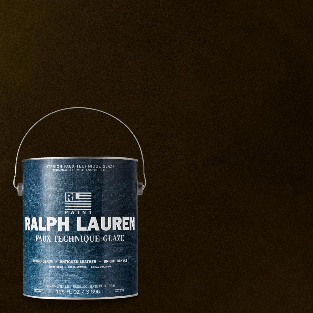 Ralph Lauren 1-gal. Tudor Brown Antique Leather Specialty Finish Interior Paint