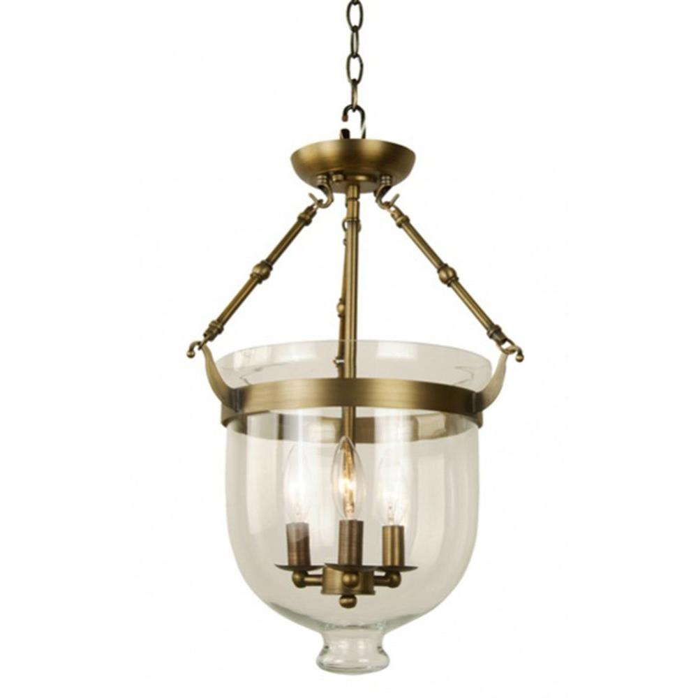 Filament Design Xavier 3-Light Antique Bronze Pendant
