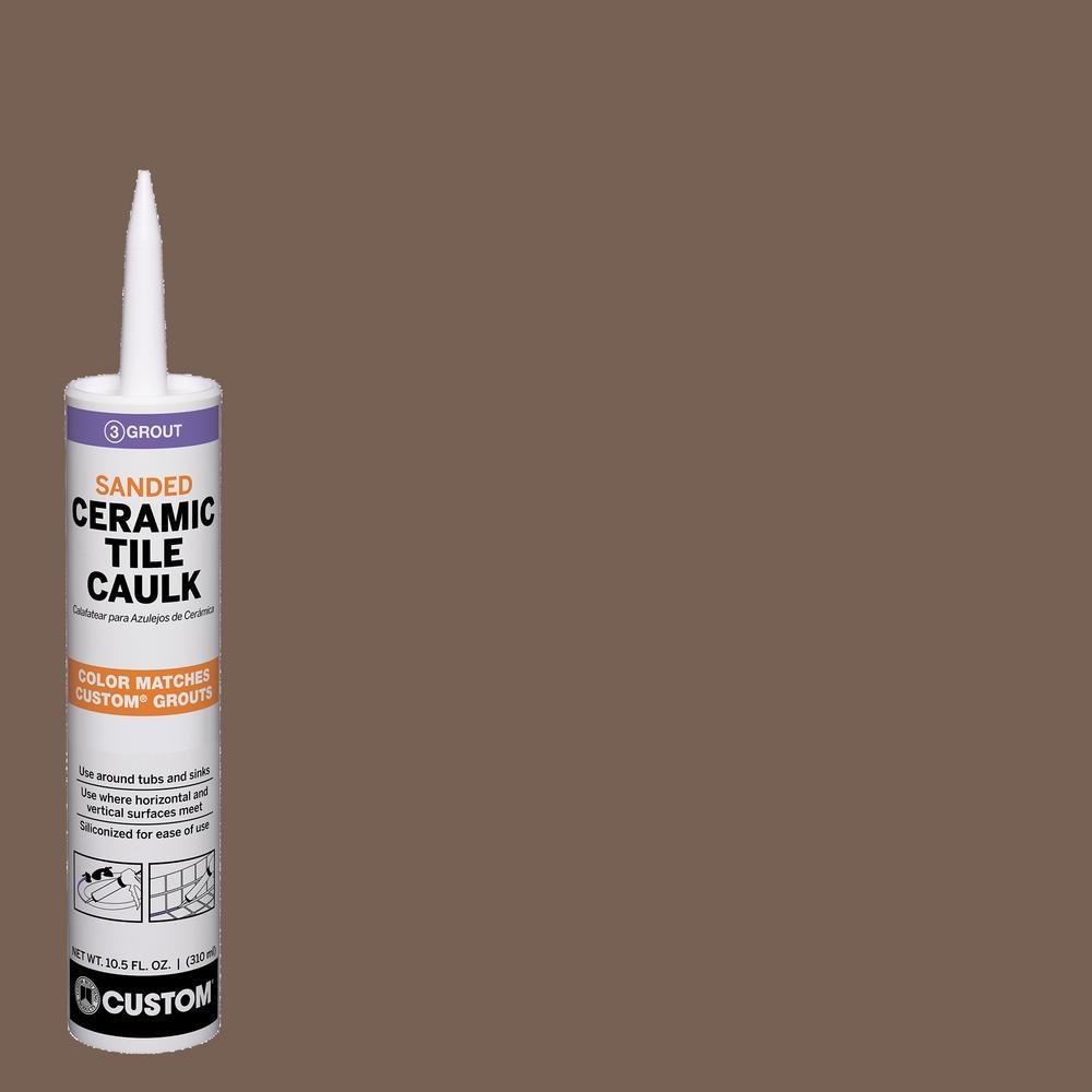 Polyblend #52 Tobacco Brown 10.5 oz. Sanded Ceramic Tile Caulk