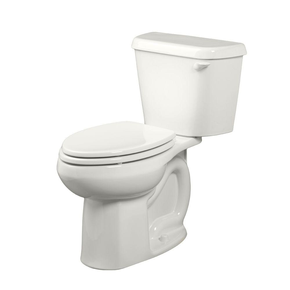 Colony 2-Piece 1.6 GPF Tall Height Elongated Toilet with Right-Hand Trip