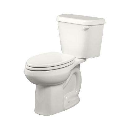 Colony 2-Piece 1.6 GPF Right Height Elongated Toilet with Right-Hand Trip Lever in White