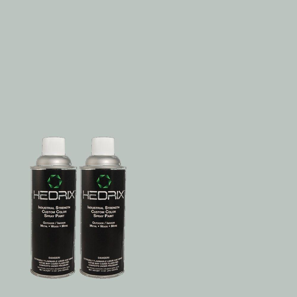 Hedrix 11 oz. Match of PPU13-14 Ozone Gloss Custom Spray Paint (2-Pack)