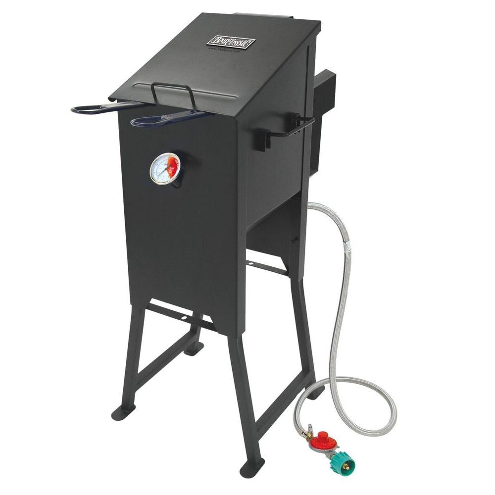 Bayou Classic 4 Gal Fryer With 2 Stainless Steel Baskets