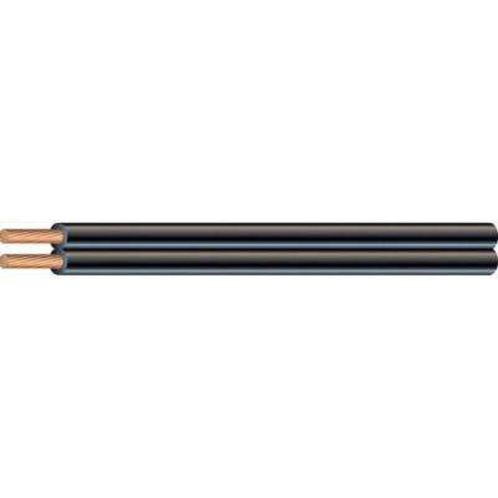 25 ft. 18/2 Black Stranded CU SPT-1 Lamp Wire