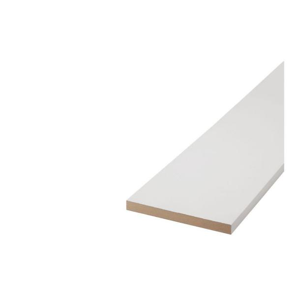 1 in. x 8 in. x 8 ft. MDF Moulding Board