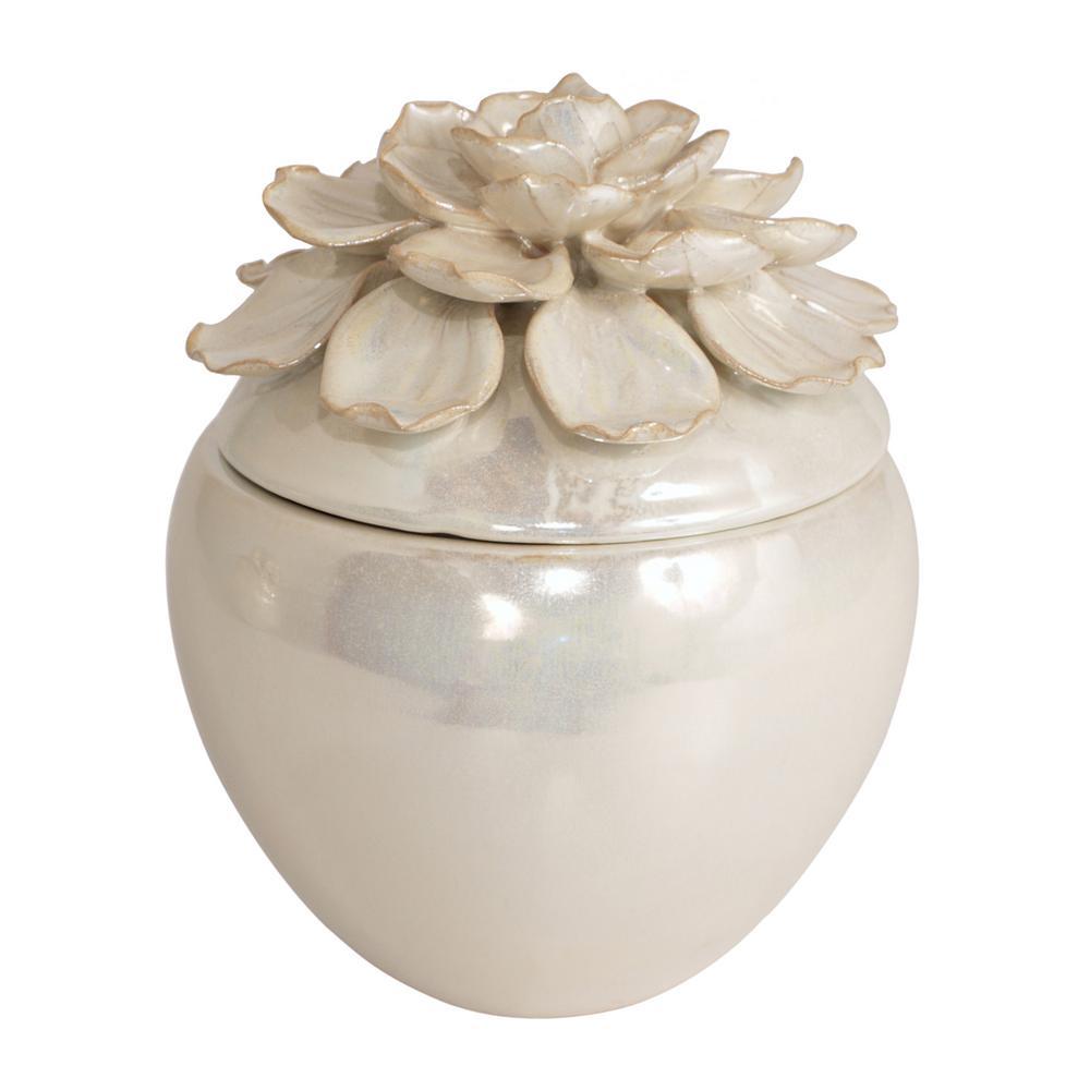 Flower Porcelain-Ceramic Box
