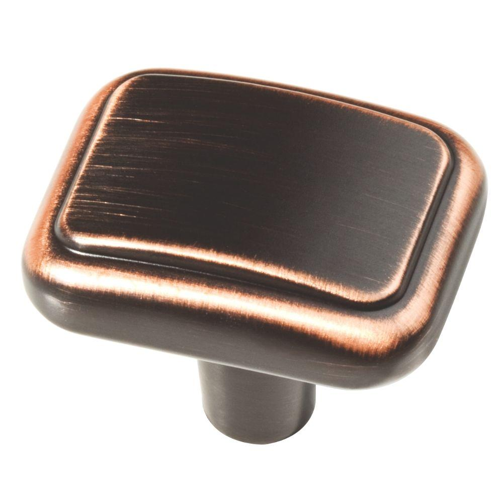 Liberty 1-1/5 in. Venetian Bronze with Copper Highlights Kirkwood Cabinet Knob