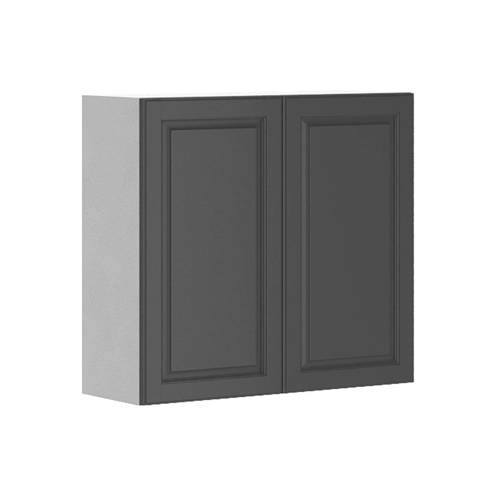 Painting Melamine Kitchen Cabinets White: Fabritec Ready To Assemble 33x30x12.5 In. Buckingham Wall