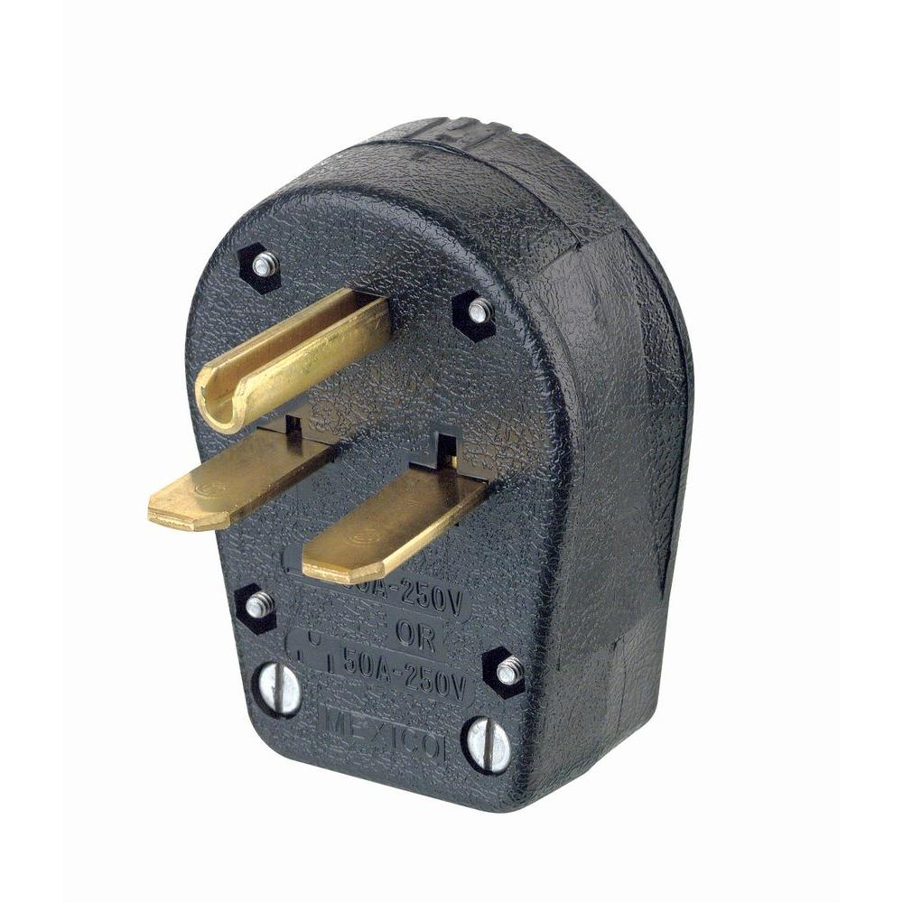 Leviton 30 50 Amp 2 Pole 3 Way Grounded Angle Straight Blade Plug 208 Volt Phase Receptacle Wiring Diagram