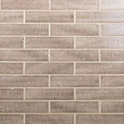 Rhythmic Meteor 2 in. x 9 in. 12mm Glazed Clay Subway Tile (30-piece 4.63 sq. ft. / box)