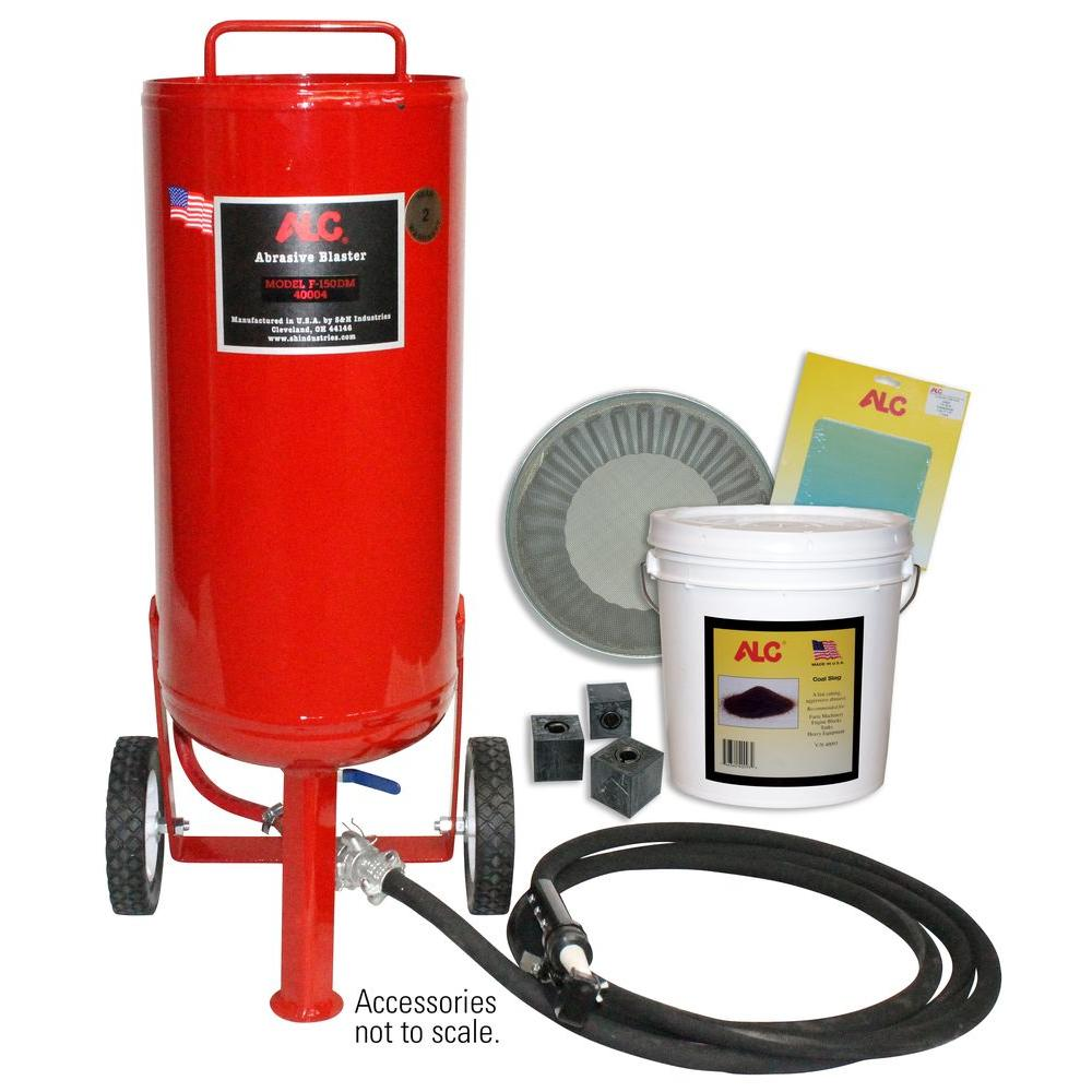 150 lb. Portable Pressure Abrasive Blaster with Starter Kit