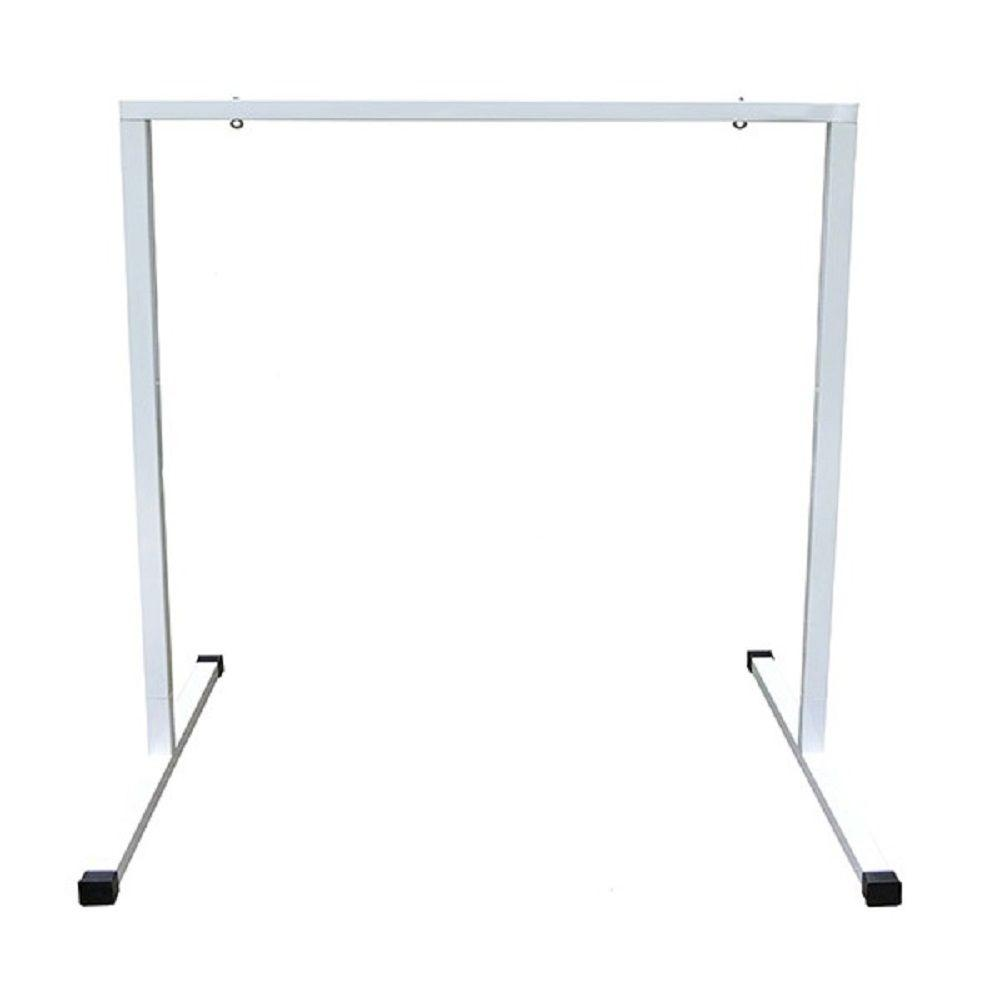 T5 2 ft. Steel White Powder Coated Light Stand