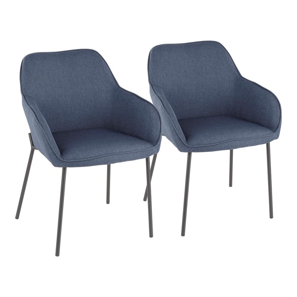 Daniella Blue Dining Chair Set Of 2