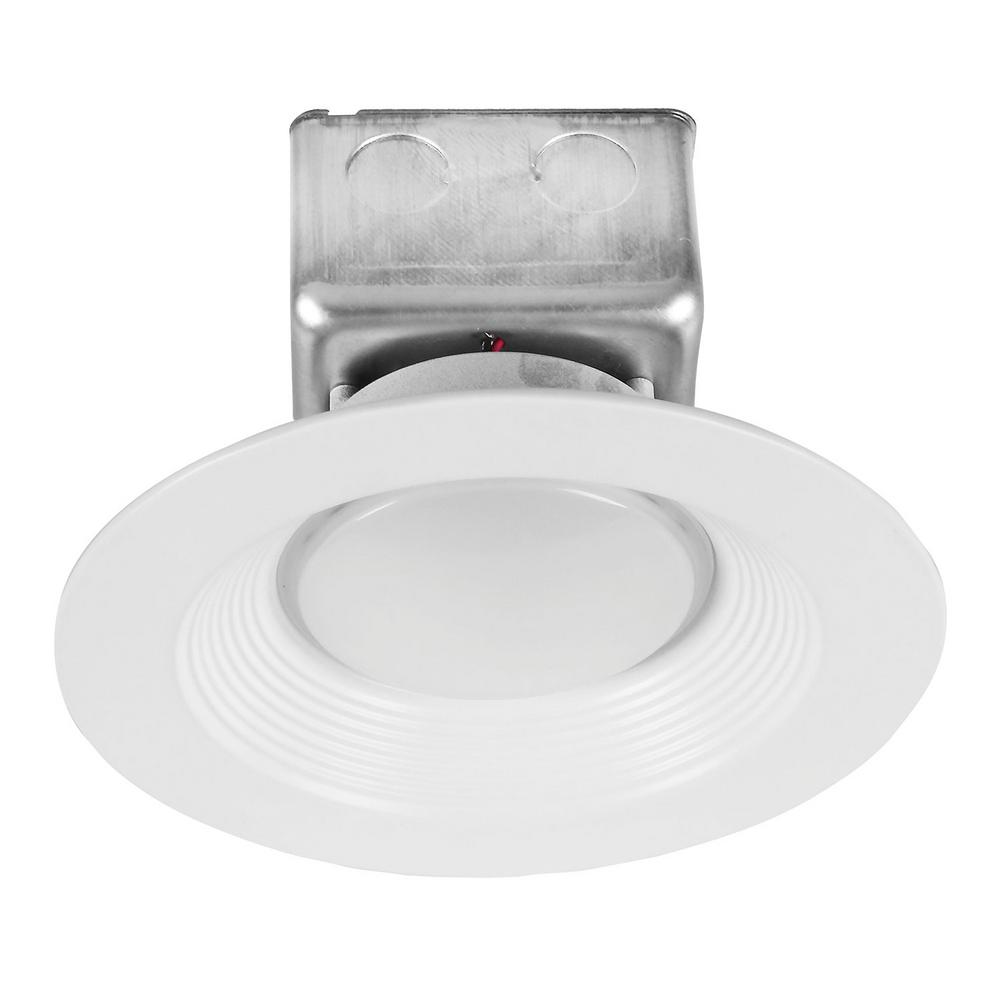 ProLED 6 in. White Integrated LED Recessed Ceiling Light Dimmable Housing-Free