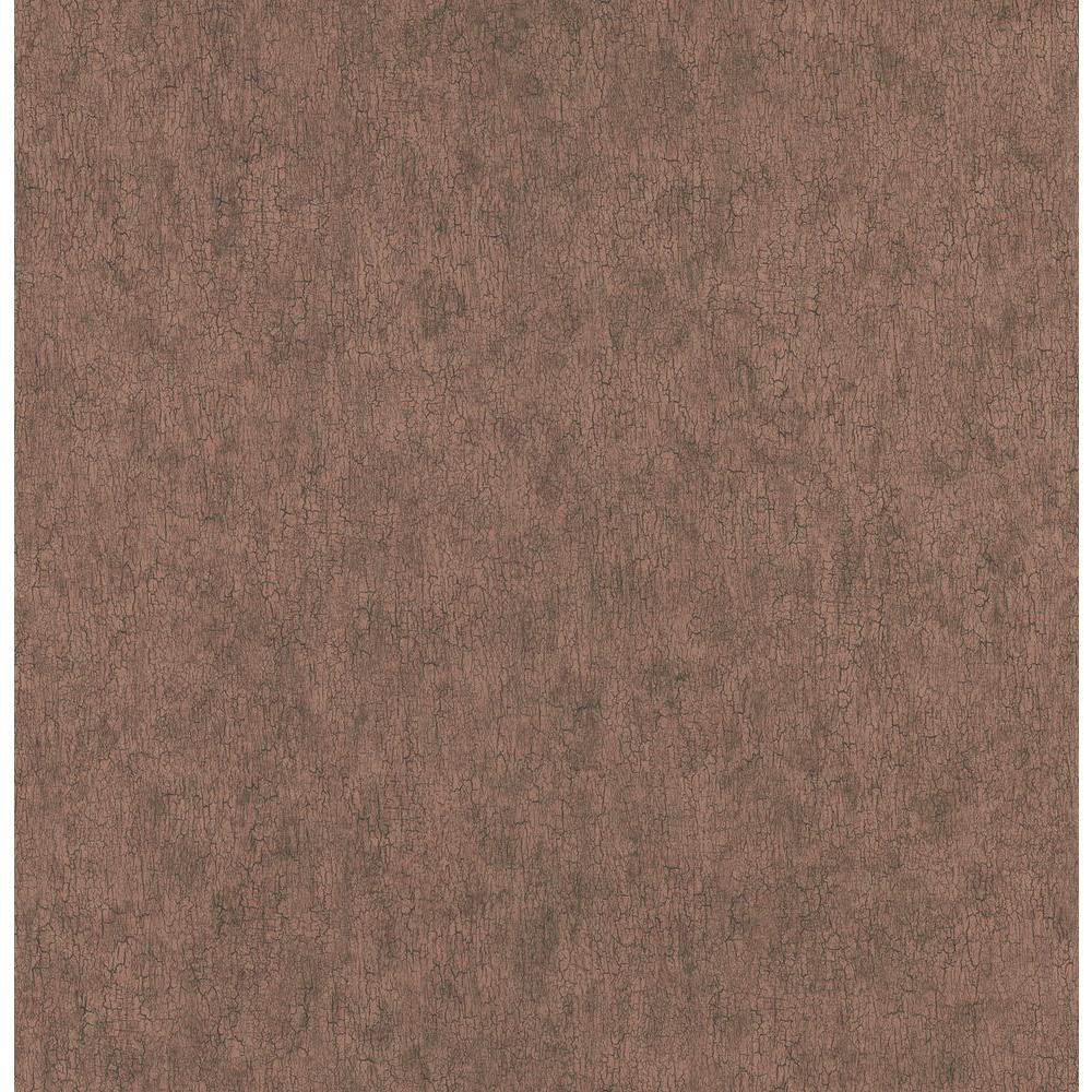 Northwoods Lodge Red Crackle Texture Wallpaper Sample