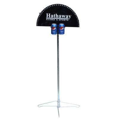 Quickscore Outdoor Game Scorer for Yard Games Horseshoes Cornhole Ladderball and Ring Toss with Drink Holders