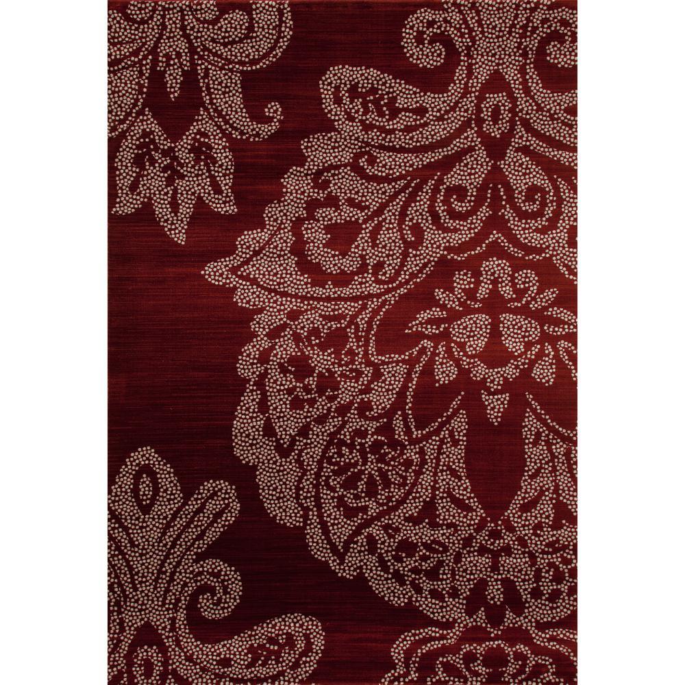 Art Carpet Bastille Large Damask Red 7