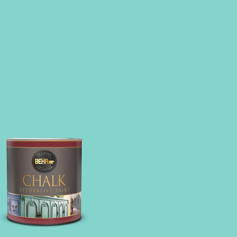 1 qt. #HDC-MD-09 Island Oasis Interior Chalk Decorative Paint