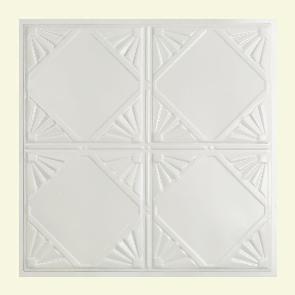 Erie 2 ft. x 2 ft. Lay-in Tin Ceiling Tile in