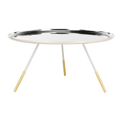 Orson Silver/Gold Coffee Table