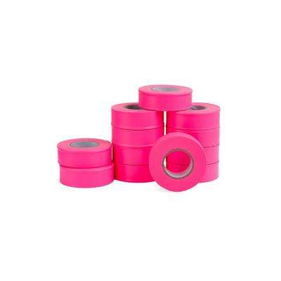 1 in. x 150 ft. Fluorescent Pink Flagging Tape (12-Pack)