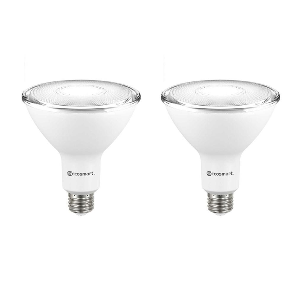 90-Watt Equivalent PAR38 Dimmable LED Flood Light Bulb, Bright White (2-Pack)