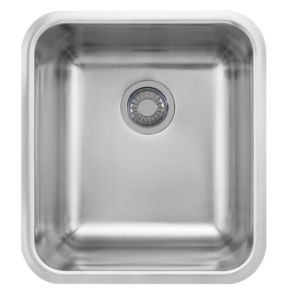 Genial Franke Grande Undermount Stainless Steel 21.5 In. X 19.75 In. Single Bowl  Kitchen Sink