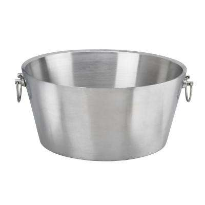 19 in. Insulated Stainless Steel Party Tub