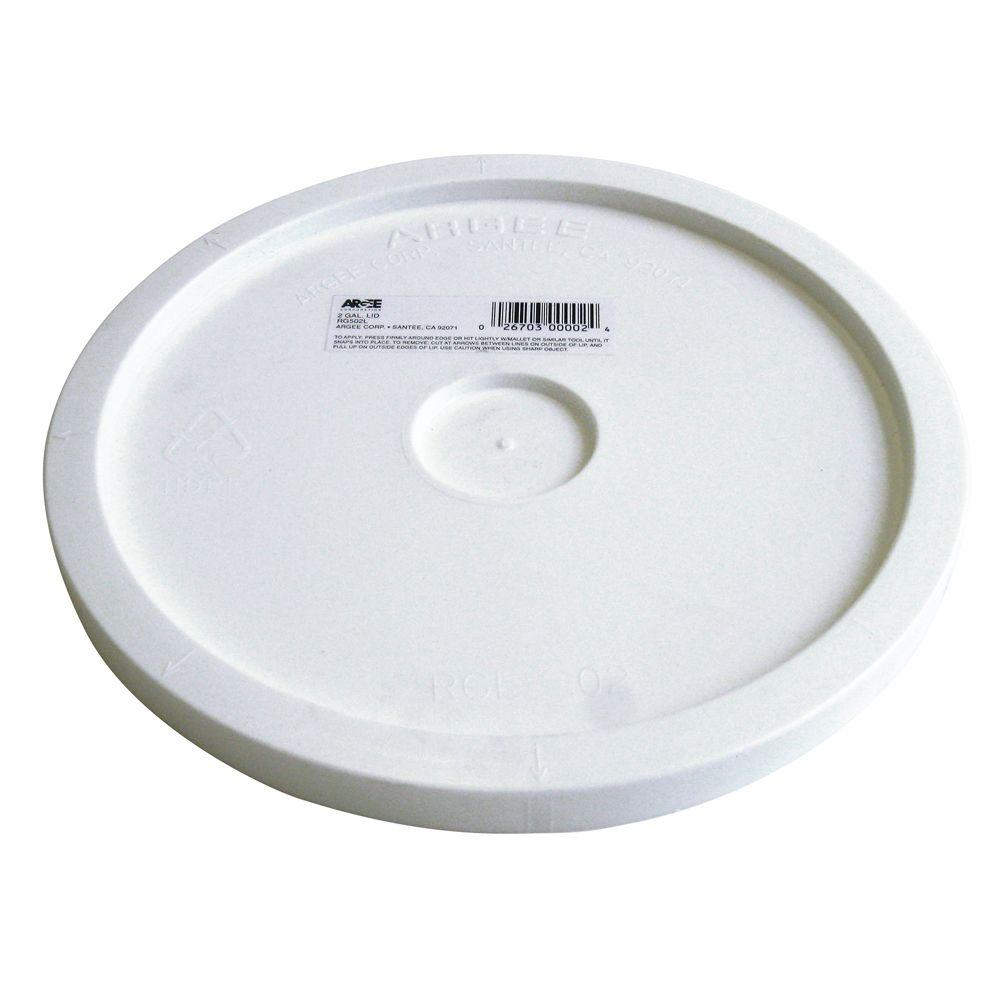 Lid For 2 Gal Buckets And Paint Pails Rg502l The Home Depot
