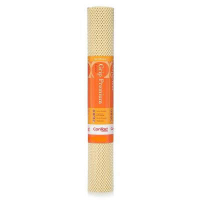 Grip Premium 12 in. x 4 ft. Almond Color Non-Adhesive Thick Grip Drawer and Shelf Liner (6-Rolls)