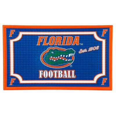 Florida State University 18 in. x 30 in. Embossed Welcome Mat