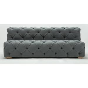 Grey Chateau Modern Tufted Sofa