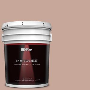 Behr Marquee 5 Gal Icc 53 Cozy Blanket Flat Exterior Paint Primer 445405 The Home Depot