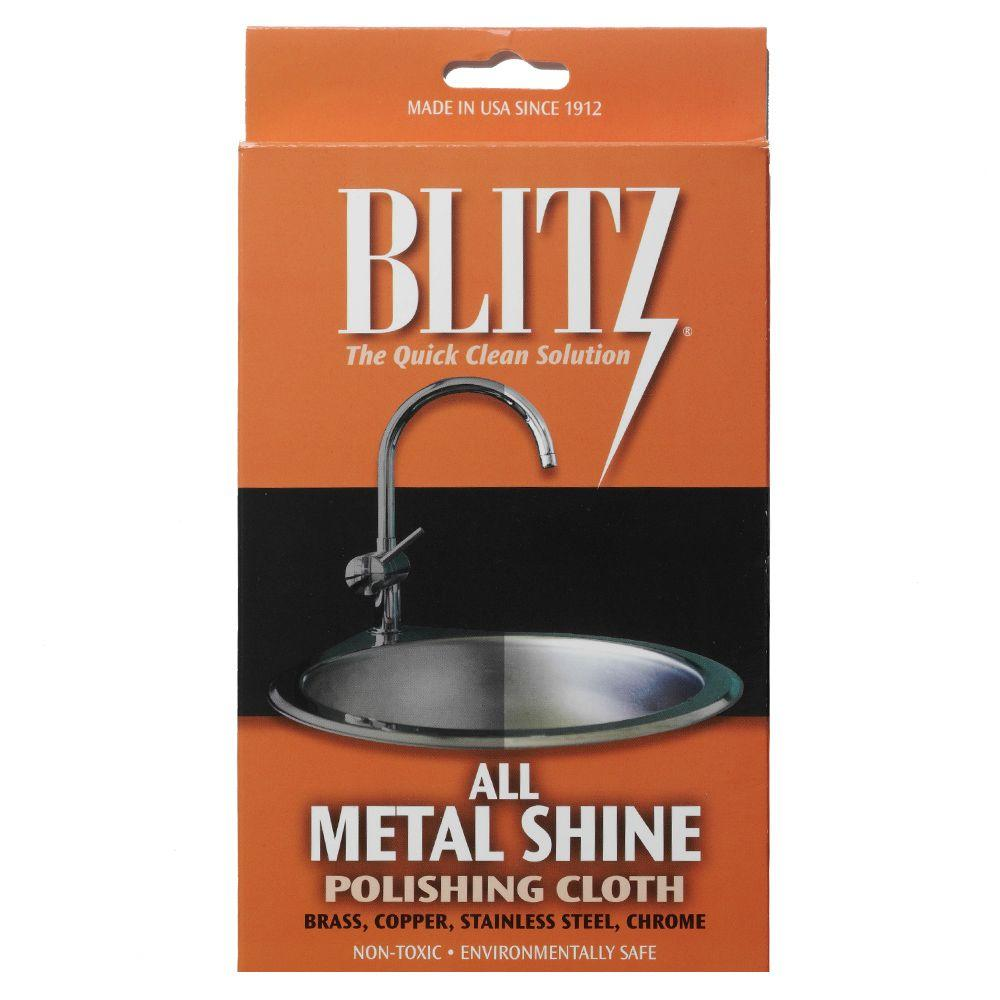 Blitz All Metal Shine and Polishing Care Cloth