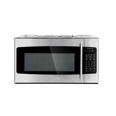 1.7 cu. ft Over the Range Microwave in Stainless Steel