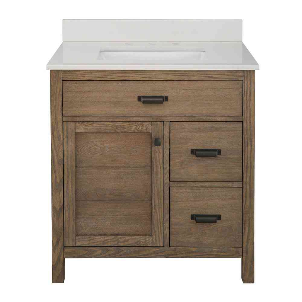 Home Decorators Collection Stanhope 31 in. W x 22 in. D Vanity - Sale: $569.40 USD (40% off)