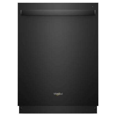 Top Control Built-In Tall Tub Dishwasher in Black with Fan Dry, 51 dBA