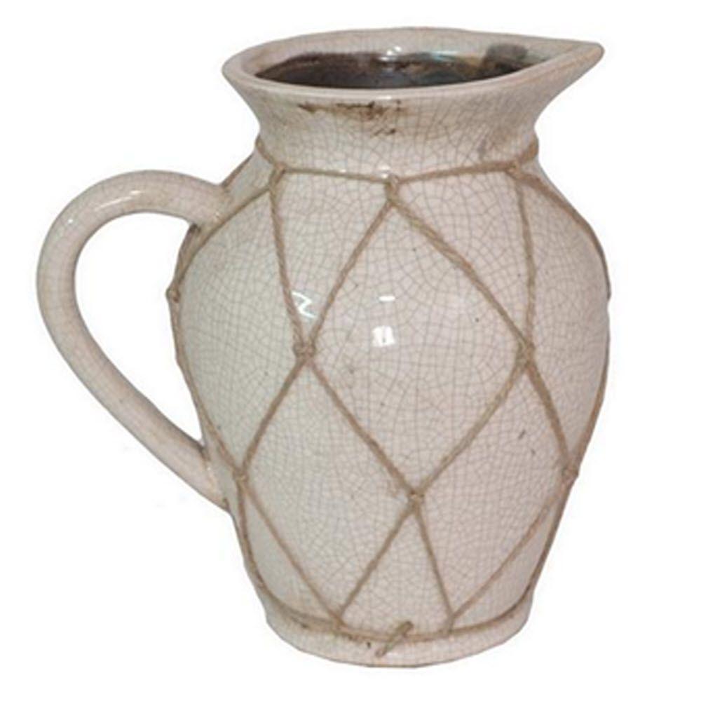 Home Decorators Collection Ravenna Medium Beige Vase