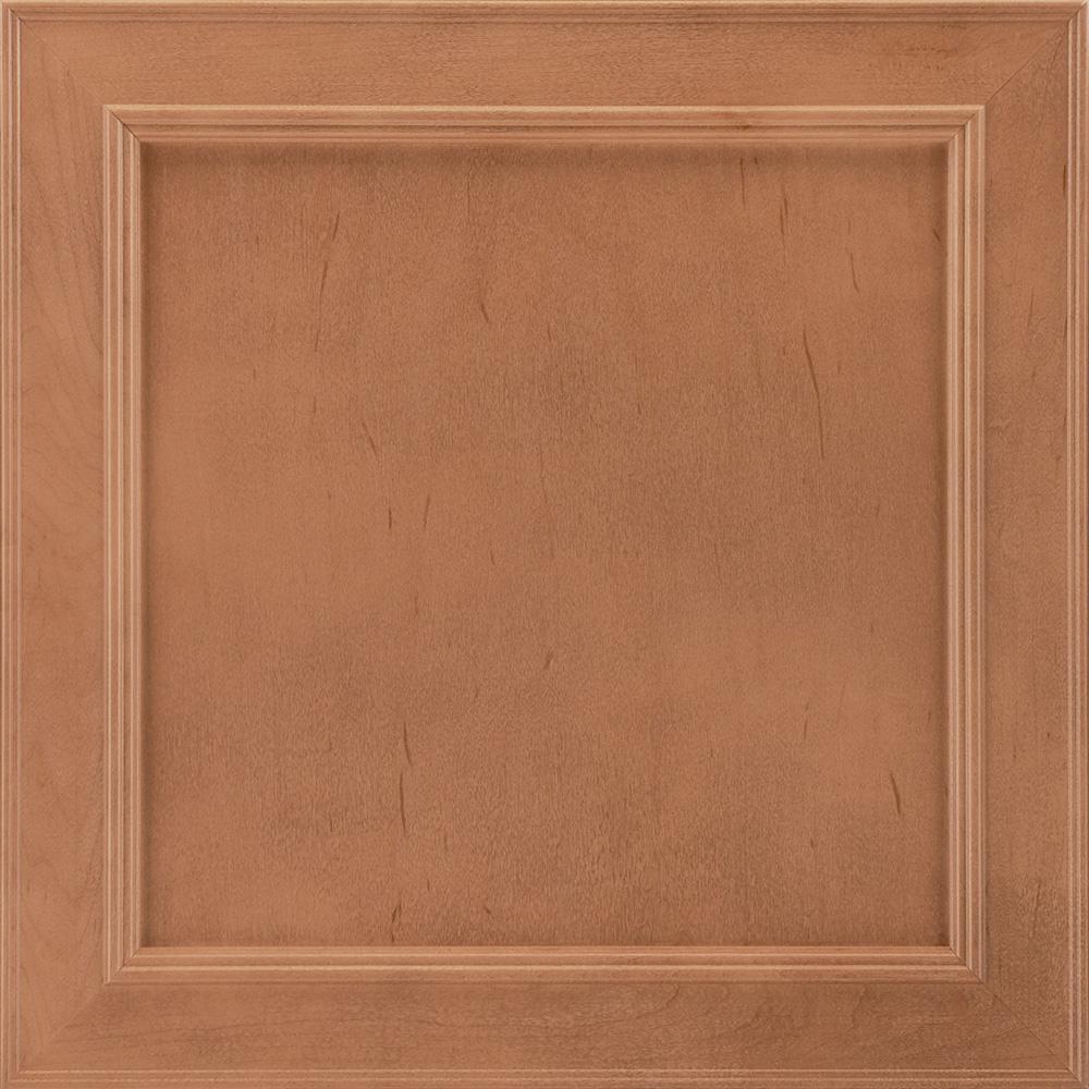 14-9/16x14-1/2 in. Cabinet Door Sample in Brookland Maple Spice