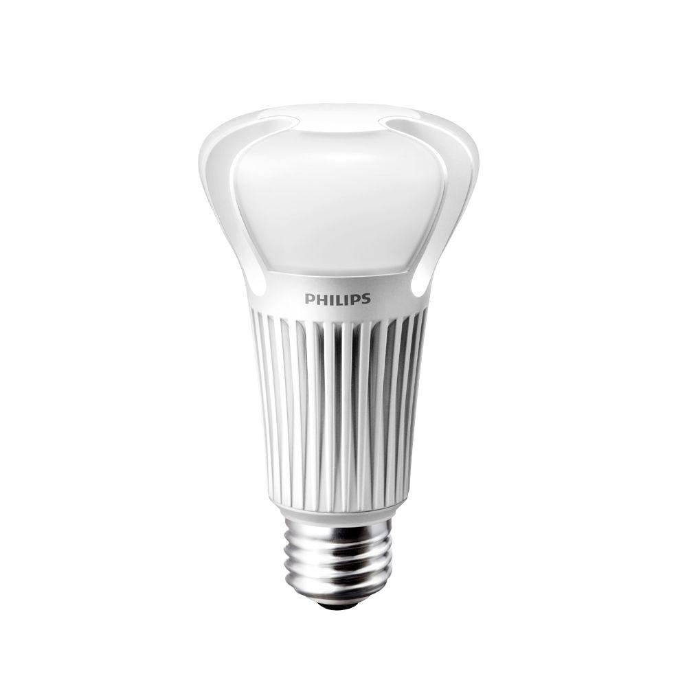 Philips 75W Equivalent Soft White (2700K) A21 Dimmable LED Light Bulb (E*) (2-Pack)