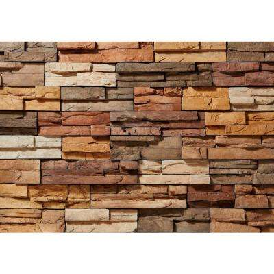 Prostack Sand Corners 26-3/4 in. x 16 in. 6 lin. ft. Manufactured Stone (18-Piece per Carton)