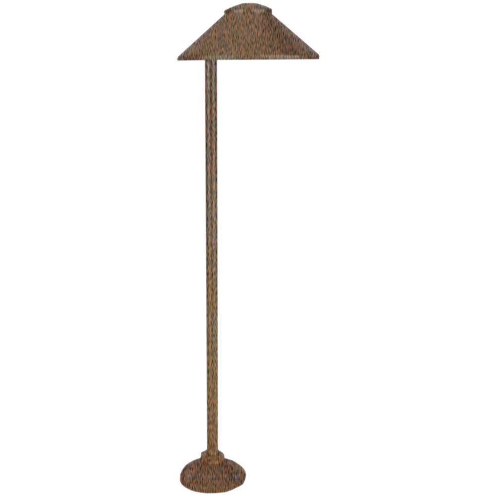 Centennial 1-Light Outdoor LED Weathered Brown Path Light