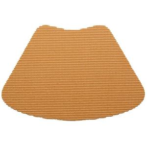 Kraftware Fishnet Wedge Placemat in Toffee (Set of 12) by Kraftware