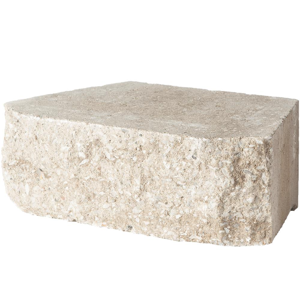 Pavestone 6.75 in. L x 11.63 in. W x 4 in. H Merriam Blend Retaining Wall Block (144 Pieces/ 46.6 Sq. ft./ Pallet)