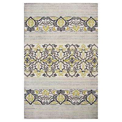 Natural Serenity 8 ft. x 10 ft. All-Weather Area Rug