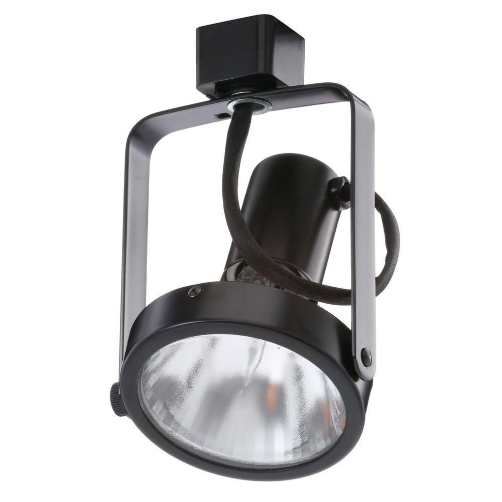 black track lighting fixtures. Juno PAR30 Basic Gimbal Black Track Lighting Head Fixtures E