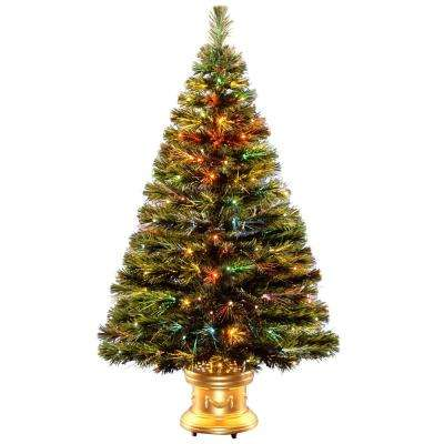 4 ft. Fiber Optic Radiance Fireworks Artificial Christmas Tree