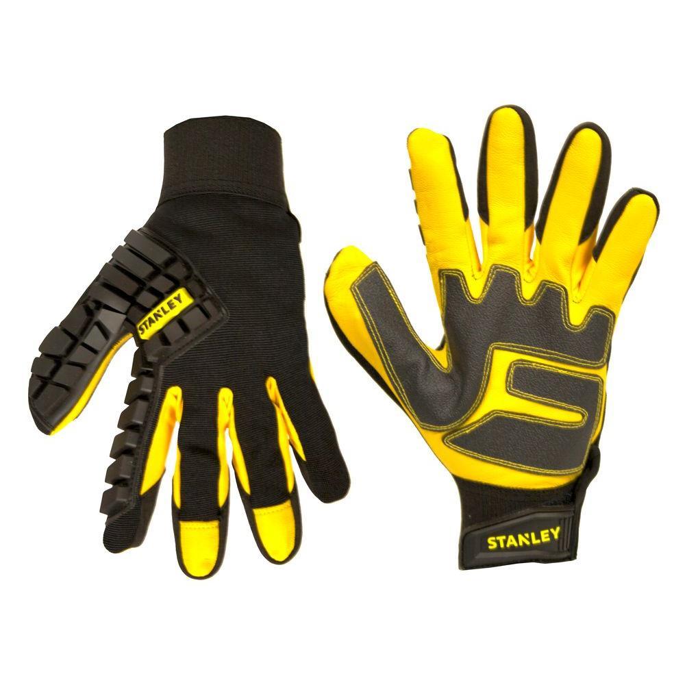 Stanley Men's Large Goatskin Hammer Guard Gloves by Stanley