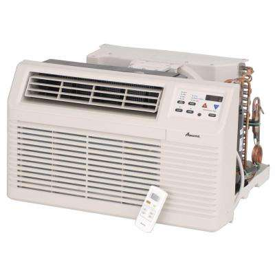 7,400 BTU 230/208-Volt Through-the-Wall Air Conditioner and Heat Pump with 3.5 kW Electric Heat and Remote